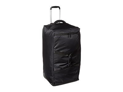 Lipault Paris 0% Pliable 30 Wheeled Duffel (Black) Duffel Bags