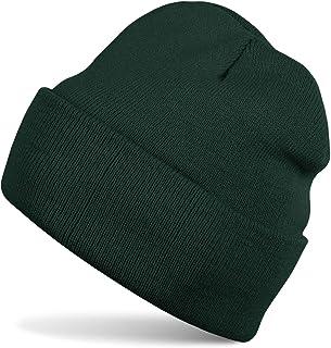 Wald grün braun Mütze Beanie Jungen Baby Übergangsmütze Größe 46-56 Motiv