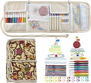 GearTaker Crochet Hooks Kit with Case