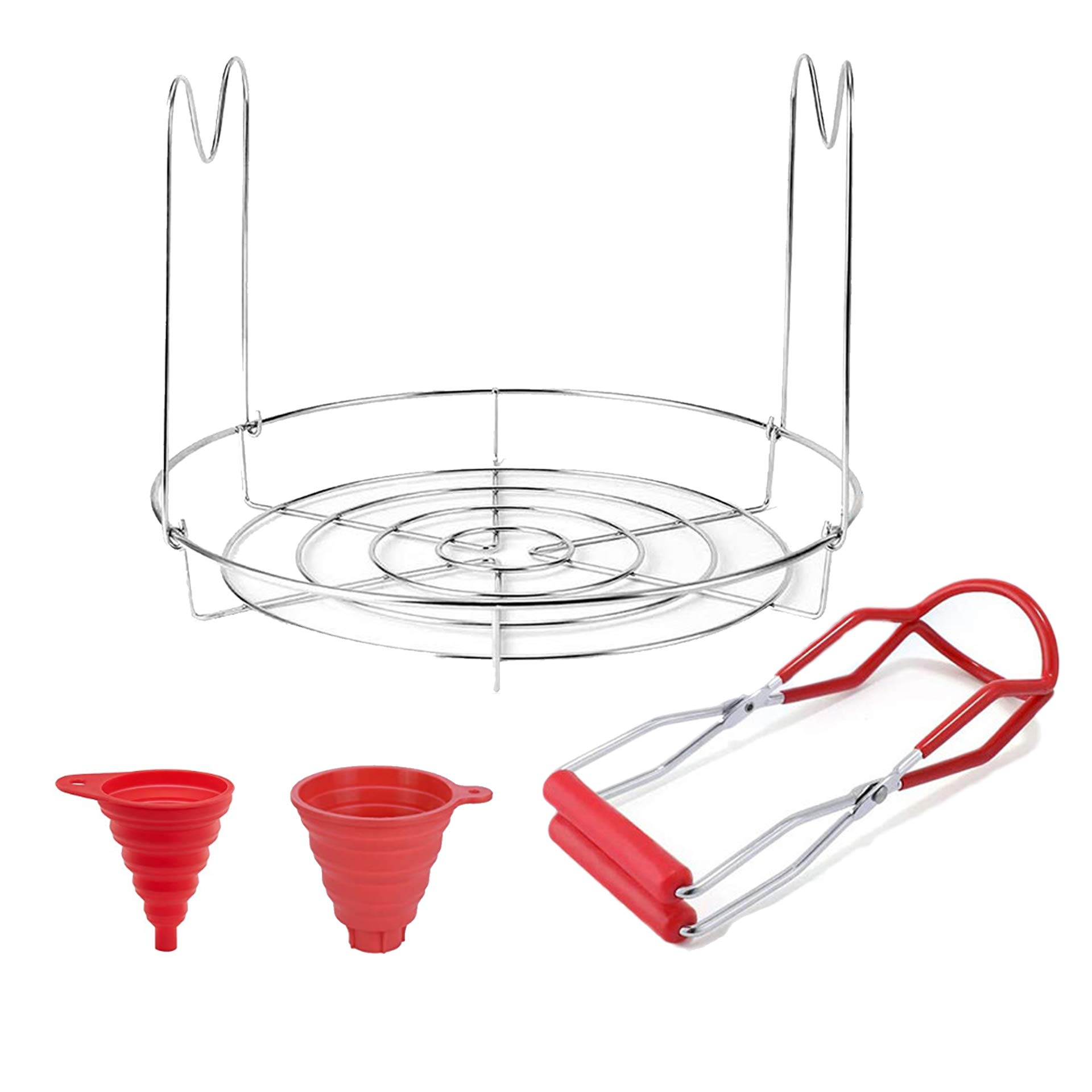 Canning Rack Kits-Canning Jar Rack Canning Funnel and Canning Lifter