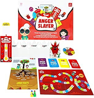 Toiing Anger Slayer- Kids Anger Slayer Board Game Kit  Children Board Game with Learning Tools  Kids Multi Activity Kit  A...