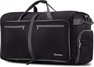 Gonex 100L Foldable Travel Duffle Bag, Extra Large Luggage Duffel with shoes compartment