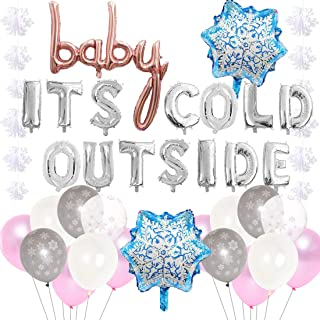 Best baby it's cold outside baby shower decorations Reviews