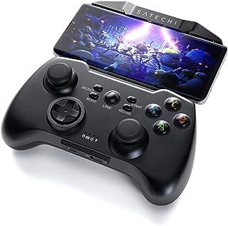 Satechi Bluetooth ワイヤレス ユニバーサル ゲームコントローラー ゲームパッド Samsung Galaxy Note HTC LG Android タブレット PC Samsung Gear VR対応 (iOSデバイスは非対応)