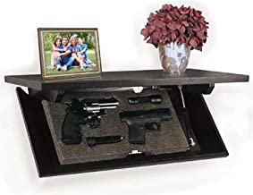 hidden shelf gun safe