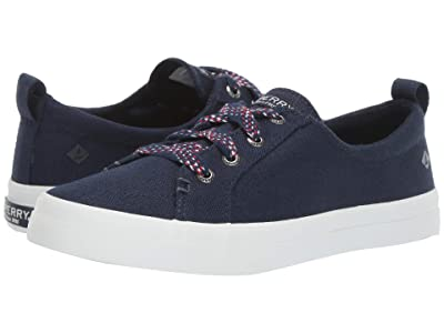 Sperry Crest Vibe Checkered Lace (Navy) Women