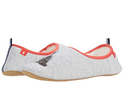 Joules Slippet (Grey Cat) Women