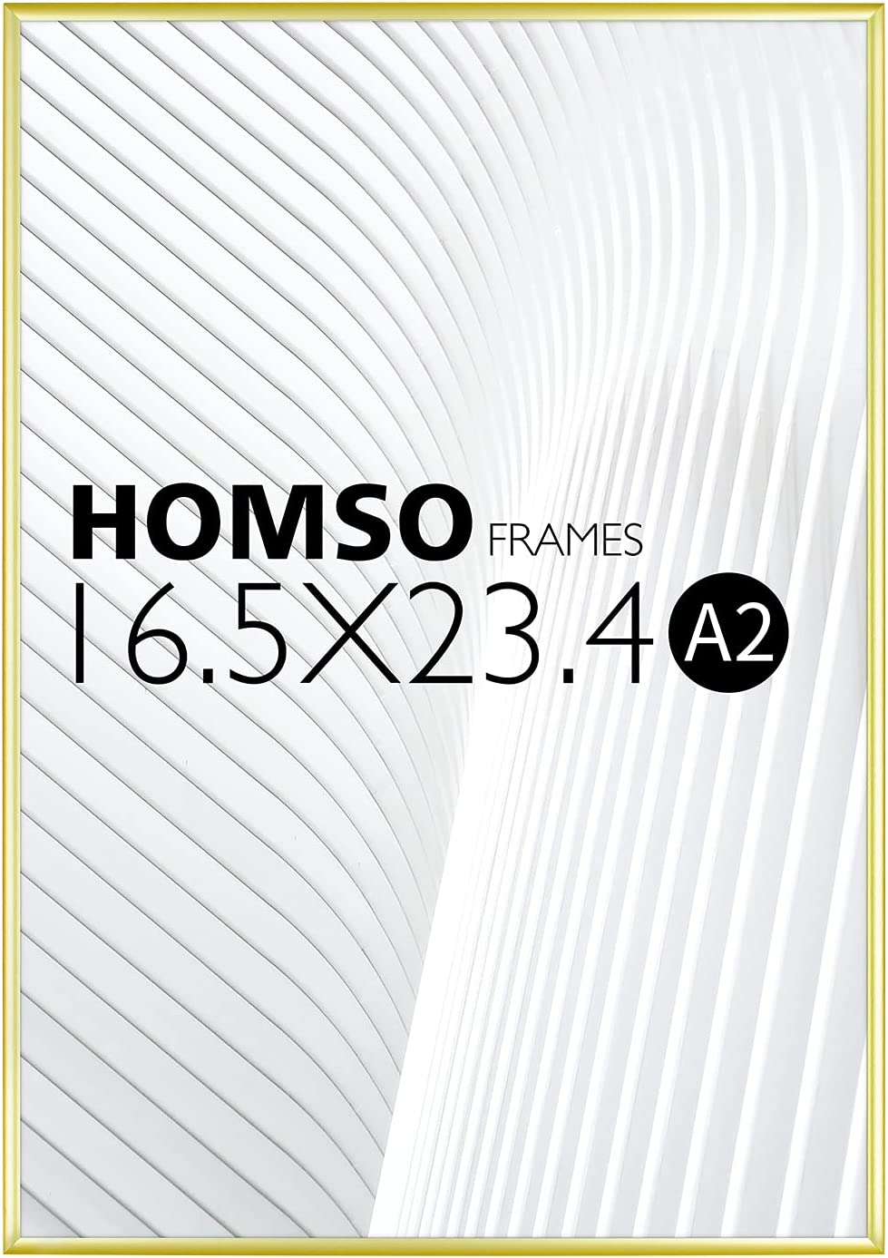 Homso A2 Poster Frame 16.5x23.4 in edge Frames Sale SALE% OFF Thin Trust Gold Metal