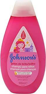 Johnsons Baby Gotas de Brillo Champú para Niños Cabellos más Brillantes Suaves y Sedosos - 500 ml