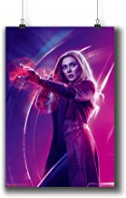 Avengers: Infinity War (2018) Movie Poster Small Prints 183-211 Scarlet Witch,Wall Art Decor for Dorm Bedroom Living Room (A4|8x12inch|21x29cm)