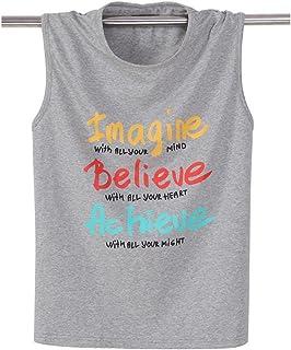 Tシャツ メンズ タンクトップ 無袖 トップス Tシャツ カットソー 英文字 ロゴ ノースリーブ かっこいい カジュアル Tシャツ