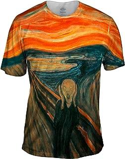 Edvard Munch - The Scream (1895) -Tshirt- Mens Shirt