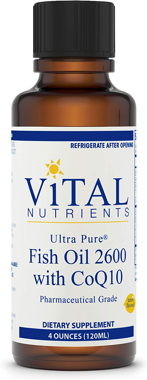 Cheap Vital 25% OFF Nutrients - Ultra Pure Fish with CoQ10 2600 Hi-Poten Oil