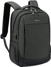 Kopack Slim Laptop Backpack Anti Theft Travel Backpack with USB Charging Port Computer Backpack Bag 15.6 Inch Black