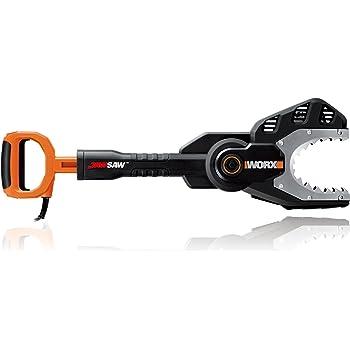 """WORX WG307 JawSaw 5 Amp Electric Chainsaw, 9.5"""" L x 11"""" W x 61"""" H, Orange"""