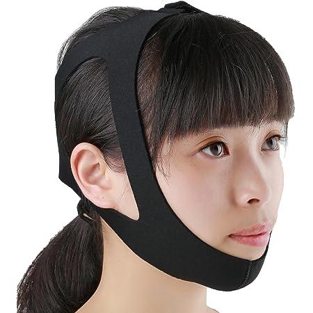 TechnoHealth 選べる いびき防止 小顔矯正 顎関節症 マルチ 顎 サポーター 簡単脱着 (1)