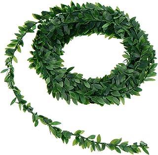 WINOMO 7.5m faux lierre vert artificiel vignes suspendues pour des bandes cérémonie fête de mariage bricolage