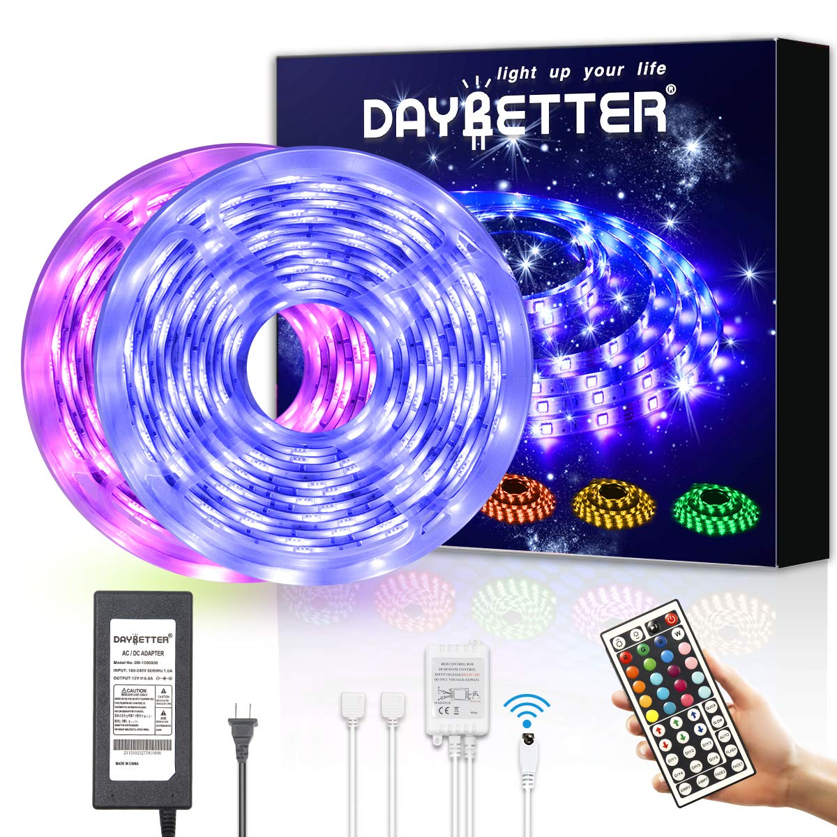 DAYBETTER Waterproof Flexible Changing Controller