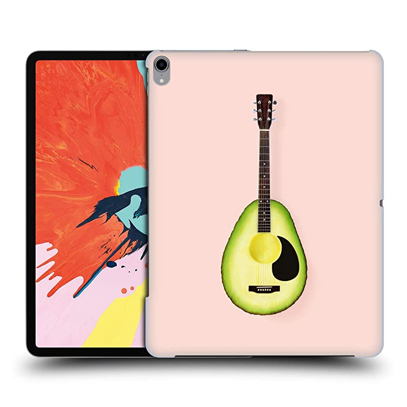 Official Paul Fuentes Avocado Guitar Pastels Hard Back Case Compatible for iPad Pro 12.9 (2018)