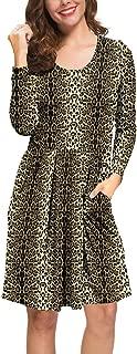 Best knee length dress casual Reviews