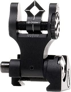 Troy Industries Di-Optic Aperture Folding Battle Sight Rear (Black)