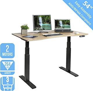 seville classics airlift standing electric desk