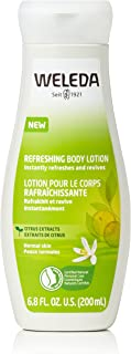 Weleda Refreshing Citrus Body Lotion, 6.8 Fluid Ounce, Plant Rich Moisturizer with Aloe Vera and Coconut Oil