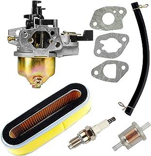 Carkio vervanging voor carburateurluchtfilter, bougie, brandstoffilterset voor Honda GXV120 GXV140 GXV160 motoren HR194 HR...