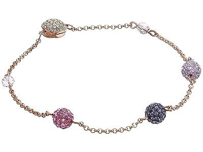 Swarovski Remix Collection Pop Strand Charm Bracelet (Rose Gold/Purple/Rose Gold Shiny Plating) Bracelet