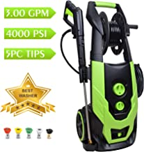 Best 4000 psi pressure washer Reviews