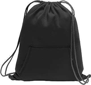 Port & Company Sweatshirt Cinch Pack BG614 Jet Black One Size