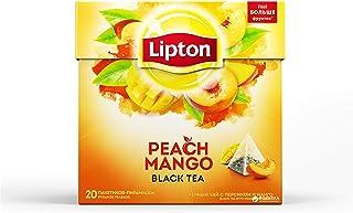 Lipton Tea Mango y Peach, 20 bags (12 boxes: 240 bags)