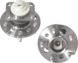 IRONTEK Rear Left and Right Side Wheel Hub and Bearing Assembly for 1997-2009 Buick 1997-2013 Chevrolet 1998-2002 Oldsmobile Intrigue 1997-2008 Pontiac 2005 Saturn Relay w/ABS (2 PCS)