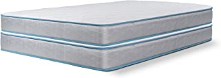 Dreamfoam Bedding Slumber Essentials Premium Foam 7-Inch Twin Mattresses, 2 Pack