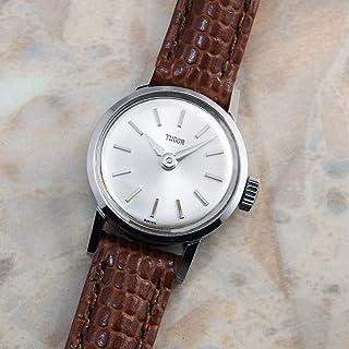 アンティーク チュードル レディース 腕時計 シルバーダイヤル アルファハンド 1966年 TUDOR [並行輸入品]