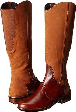 Hawaiian Brown Nubuck/Luggage Brown Leather