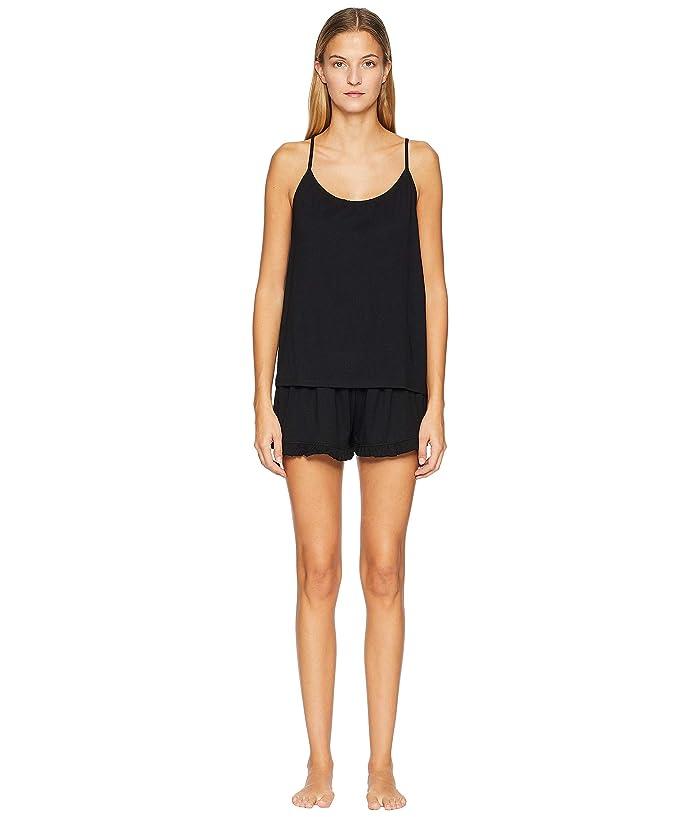 Skin Natural Skin 1 Cami and Shortie Gift Set (Black) Women