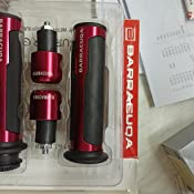Manopole Moto CNC 22mm Compatibile con Yamaha Fz6 R1 R3 R6 R15 R25 YZF R1 MT07 MT-09 Tmax 500 530 XJ6 Ybr JDDREU Parti