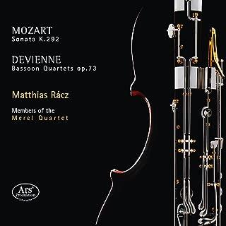 Mozart: Sonata for Bassoon & Cello in B-Flat Major, K. 292 - Devienne: Bassoon Quartets, Op. 73
