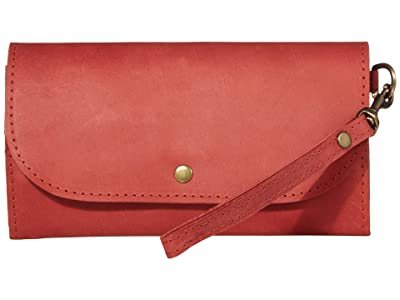 ABLE Mare Phone Wallet (Brick Red) Wallet Handbags