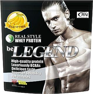 [Amazon限定ブランド] Real Nutrition ビーレジェンド ホエイプロテイン そんなバナナ風味【1kg】(WPC)