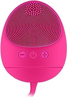 Ckeyin Dispositivo De Belleza Facial,Cepillo Facial de Silicona,Masajeador Facial Eléctrico Impermeable a Prueba de Golp...