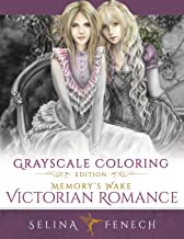 Memory's Wake Victorian Romance - Grayscale Coloring Edition (Grayscale Coloring Books by Selina) (Volume 5)