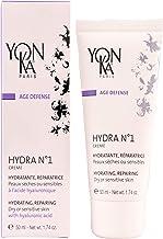 YON-KA AGE DEFENSE HYDRA NO. 1 Creme Hydratante و Reparatrice (1.7 اونس / 50 میلی لیتر) - کرم آبرسان و اصلاح برای انواع پوست های خشک و حساس