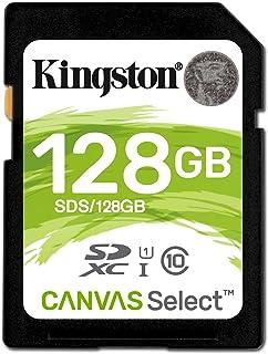Cartao Memoria Classe 10 Kingston Sds/128gb Sdxc 128gb 80r/10w Uhs-i U1 Canvas Select