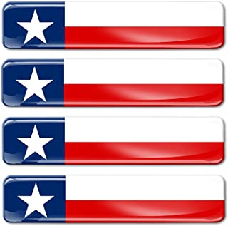 Stickers x4 bumper-helmet en vinyle autocollants 5/ cm Agiter United States Am/érique USA drapeau am/éricain 5,1/ cm