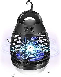 【2020最新発行】蚊取り器 電撃殺虫器 LEDランタン 蚊取り器 照明 捕虫器 誘虫灯 殺虫 屋外室内適用 防水機能 USB充電式 省エネ ネが寝室/リビング/キッチン/室内に適していま