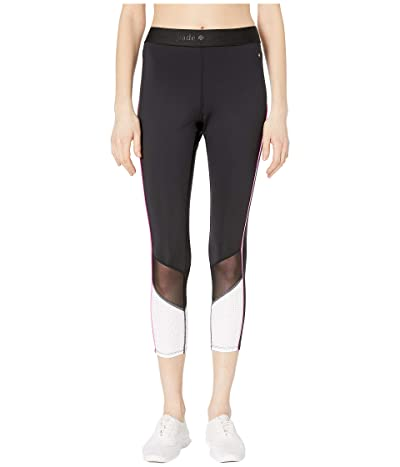 Kate Spade New York Athleisure Mesh Inset Leggings (Black) Women