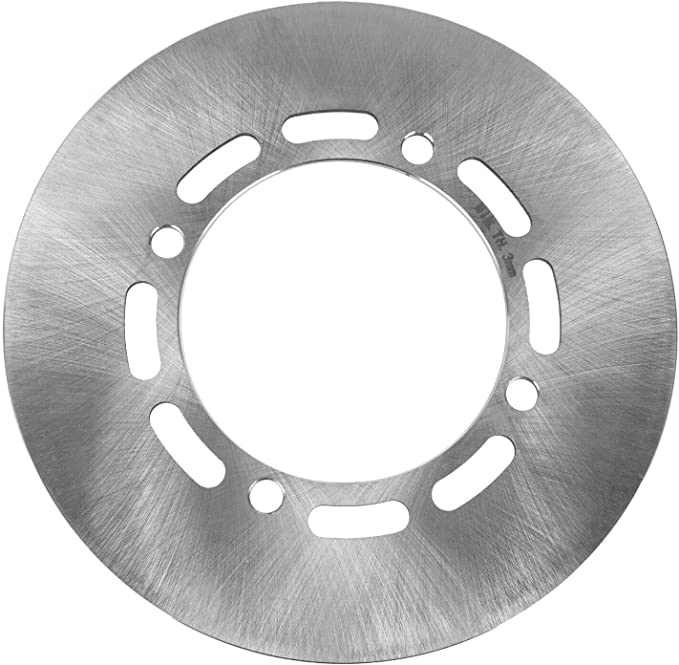Caltric Rear Brake Disc Rotor Compatible with Yamaha Grizzly 660 ...