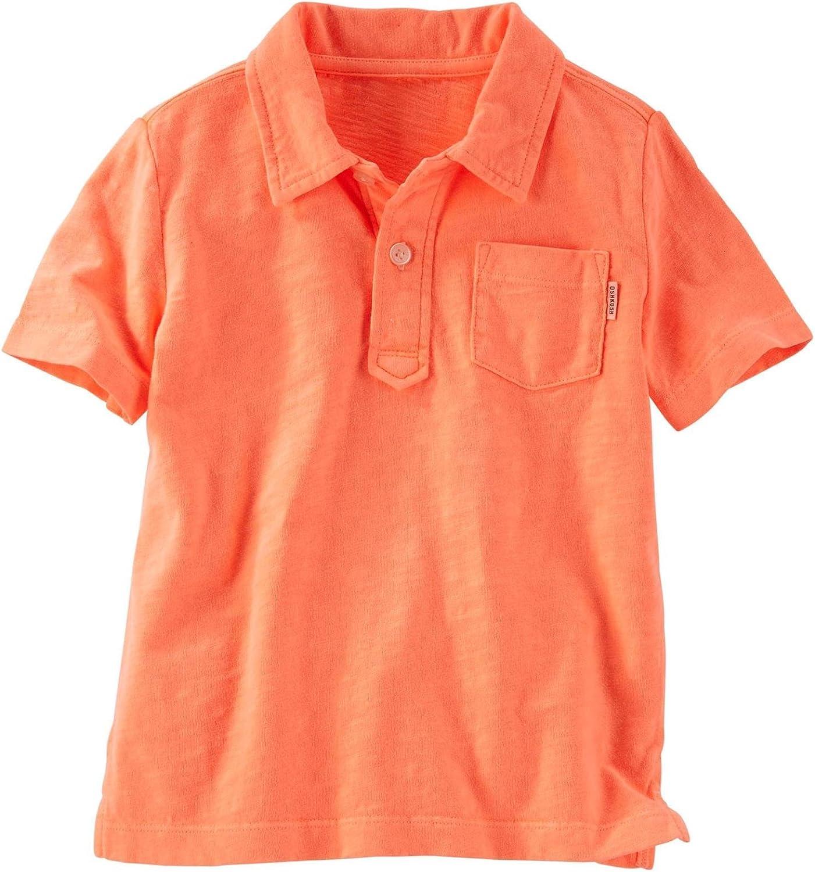OshKosh B'Gosh Boys' Knit Polo Henley 21966615